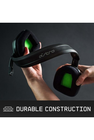 Logitech Astro A10 Flexible Mikrofonlu Profesyonel Oyuncu Kulaklığı - Yeşil