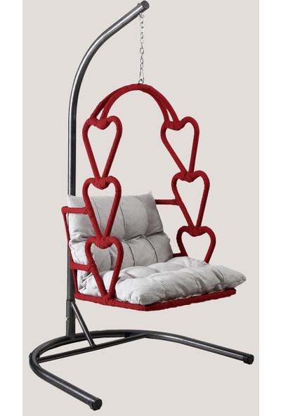 Capri Swing - Love Story - Tek Kişilik Rattan Bahçe Balkon Salıncağı