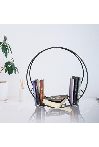 Wess Dizayn Ws-06 Metal Dergilik & Kitaplık
