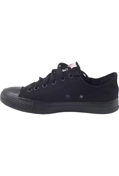 Muya 85466-3114 Günlük Keten Erkek Spor Ayakkabı Siyah