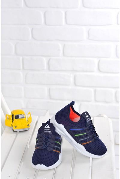 Gezer 02921 Günlük Fileli Erkek Çocuk Spor Ayakkabı Lacivert