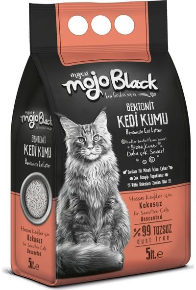 Mojo Black Kokusuz Kedi Kumu 5lt 3 Kum Kürek Hediyeli