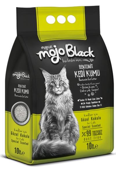 Mojo Black Kokulu Kedi Kumu 10LT 3 Kum Kürek Hediyeli