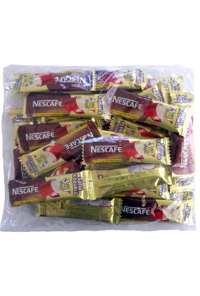 Nescafe 3'ü 1 Arada Sütlü Köpüklü Kahve 9 gr İkramlık 32'li Paket