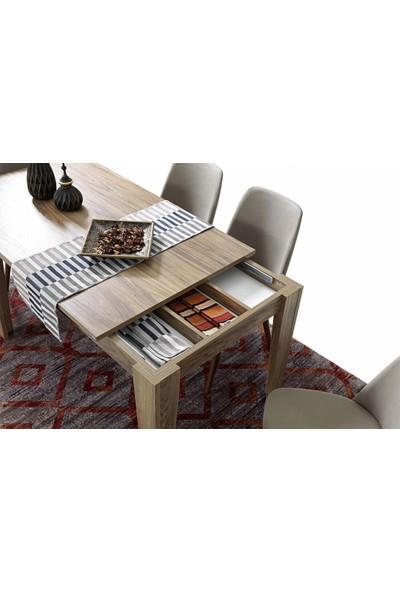 Bermax Tek Açılım Kaşıklıklı Masa Rayı