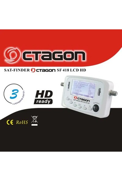 Octagon Sat-Finder SF-418 LCD Hd