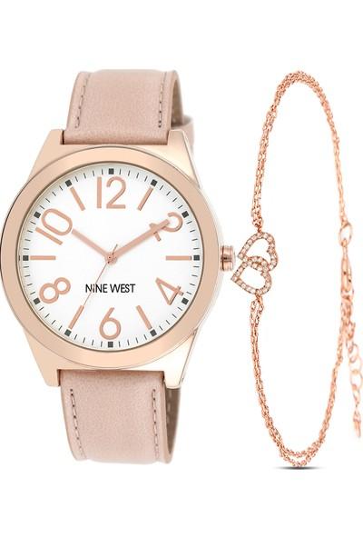 Nine West NW-1660SVPK Kadın Kol Saati