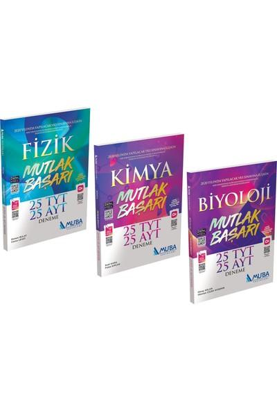 Muba Yayınları TYT - AYT Fizik - Kimya - Biyoloji 25'li Deneme Seti
