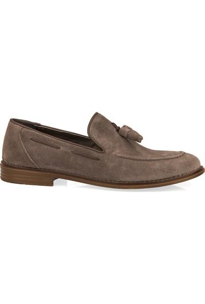 Ziya Erkek Hakiki Deri Ayakkabı 101415 399003 Kum