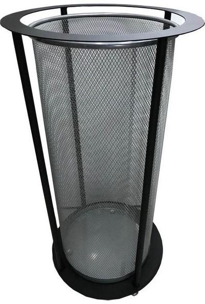 Arı Metal 1913 Fileli Paslanmaz Şemsiyelik Siyah