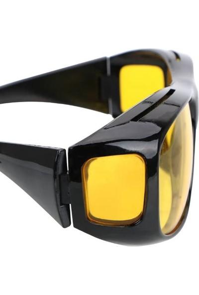 Ayt Gece Görüş Sürücü Gözlüğü Sis Gözlüğü