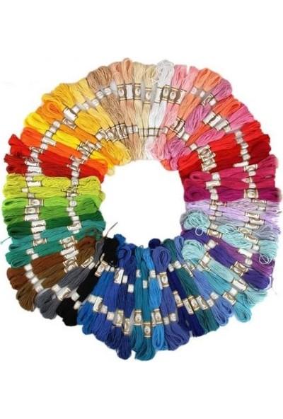 Ayt Etamin Nakış İpi 50 Renk Çapraz Pamuk İp