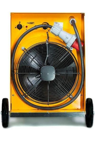 Isıjet EX40 Fanlı Elektrikli Isıtıcı 40KW-380V