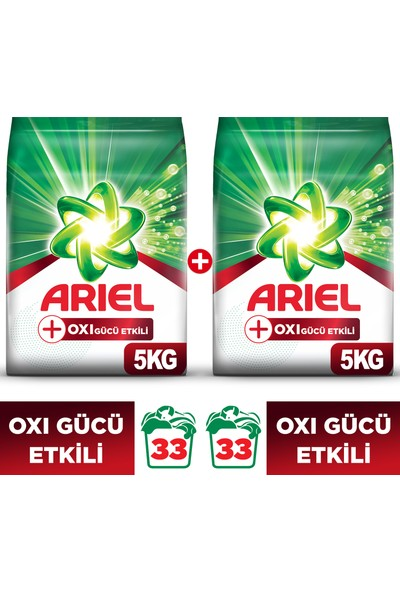 Ariel OXI 5 kg +5 kg Toz Çamaşır Deterjanı (10 kg)