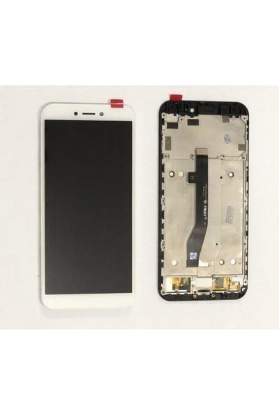 Ekranbaroni General Mobile GM8 Go LCD Dokunmatik Çıtalı Çerçeveli Ekran Siyah