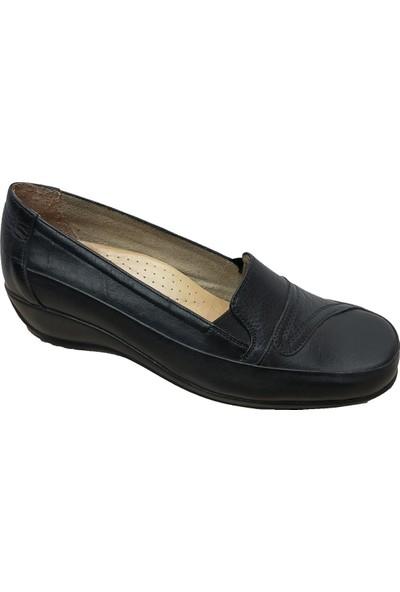 Fogs 6419 Alçak Dolgu Topuklu Kadın Ayakkabı 36