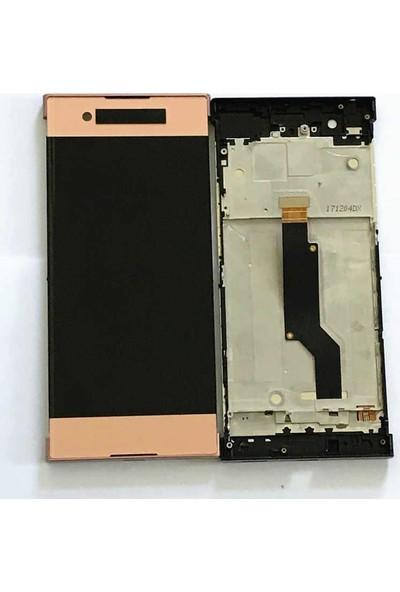 Ekranbaroni Sony Xperia XA1 Ultra LCD Ekran Dokunmatik Çıtalı Full Ekran Siyah