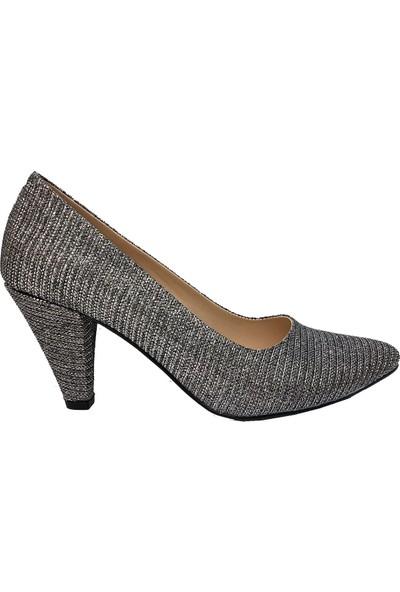 Erbay 7892 Çupra Malzeme Stiletto Kadın Ayakkabı 37