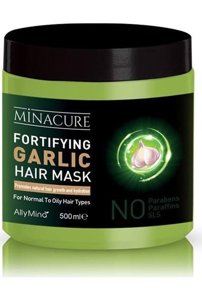 Minacure Güçlendirici Sarımsak Özlü Saç Maskesi 500 ml