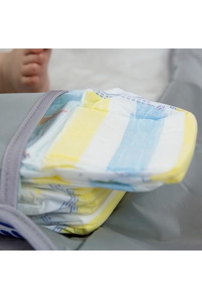 Hamur Bebek Alt Açma Minderi Bakım Çantası Unicorns - Pembe