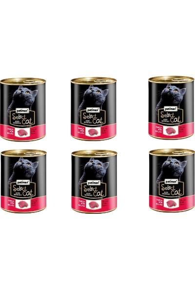 Patimax Parça Ton Balıklı Kedi Konserve 400 gr x 6 Adet