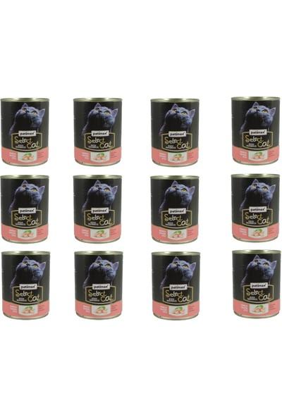 Patimax Parça Tavuk Etli Kedi Konserve 400 gr x 12 Adet