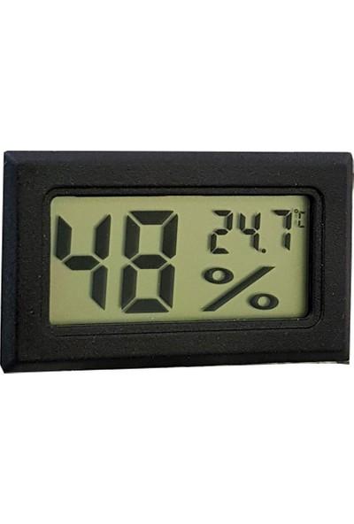Hygrometer Dijital Puro kutusu Saati ve Nem ölçer thr142