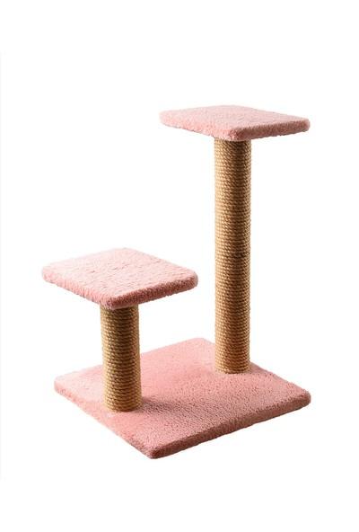 Petsi Step Kedi Tırmalama Gül Kurusu