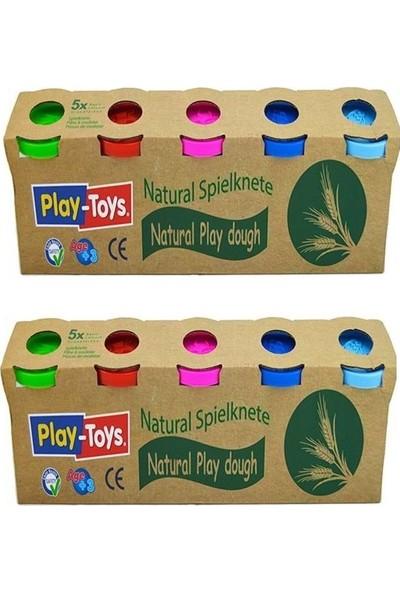 Play-Toys Oyun Hamuru - 2 Paket