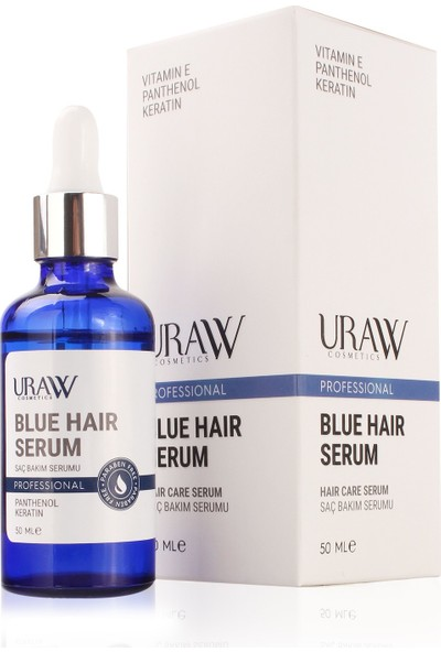 Uraw Blue Hair Serum Mavi Su 50 ml
