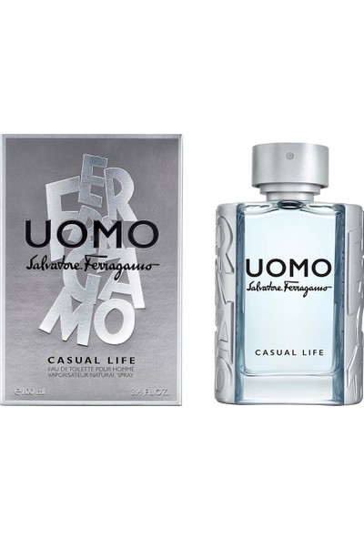Salvatore Ferragamo Uomo Casual Life Edt 100ML Vp For Man