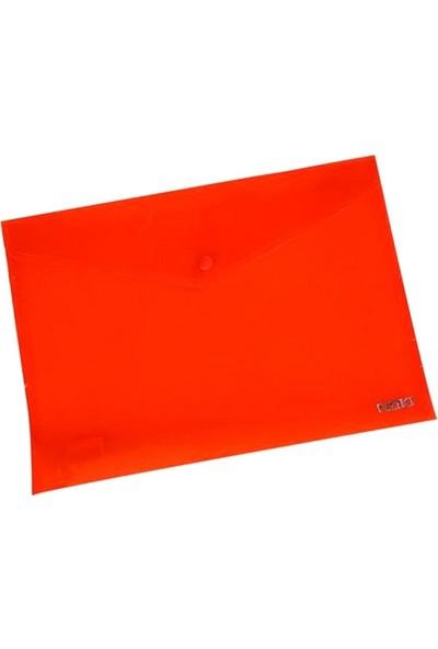 Çıtçıtlı Dosya 32 x 23 cm Kırmızı