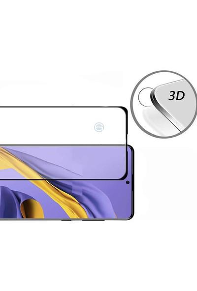 Happyshop Samsung Galaxy S10 Lite 5D Cam Ekran Koruyucu Siyah
