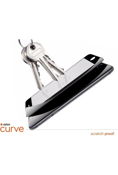 Dafoni Xiaomi Mi Note 10 Pro Curve Tempered Glass Premium Full Cam Ekran Koruyucu Siyah