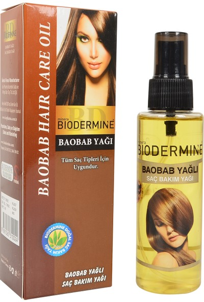 Biodermine Bobab Yağı Saç Bakım Yağı