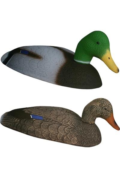 Dr Duck Tarla Yeşil Mühre 2 Yeşil - 1 Boz