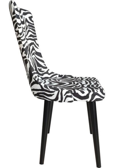 Perla Still Sandalye Zebra