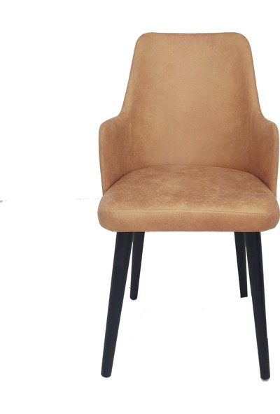 Perla Carmen Sandalye Hardal Sarısı