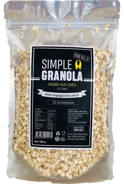 Simple Granola Organik Yulaf Ezmesi 500 gr