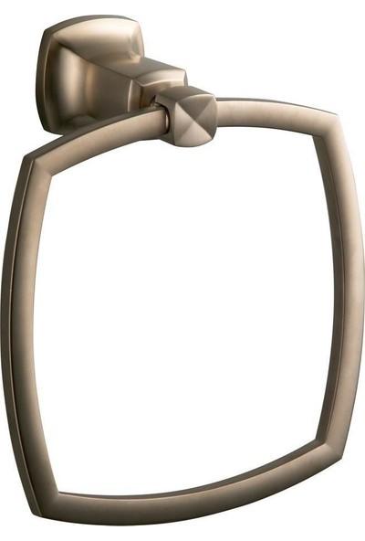 Kohler Margaux Yuvarlak Havluluk Brushed Bronze