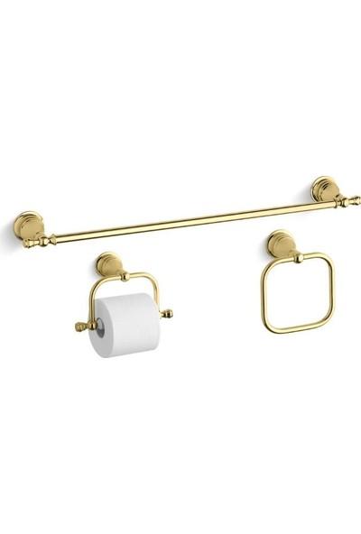 Kohler Revival Uzun Havluluk 68 cm Altın Polished Brass