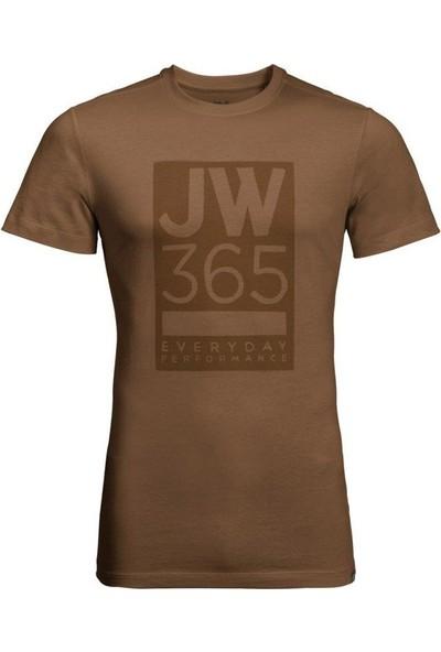Jack Wolfskin 365 Tee Erkek Tişört 1806621 5129