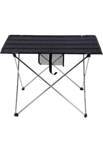 Exent Kamp Masası - Siyah