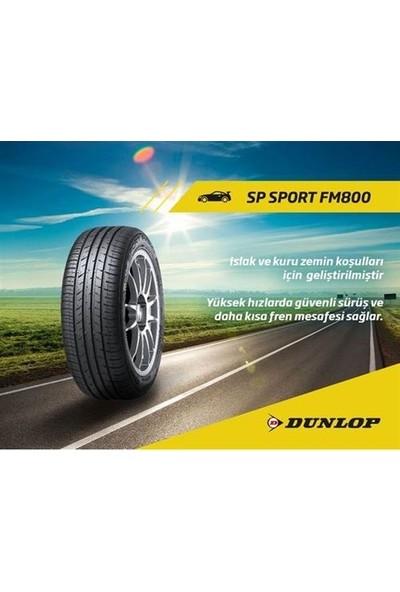 Dunlop 205/55 R16 91V Sp Sport FM800 Oto Yaz Lastik (Üretim Yılı: 2019)