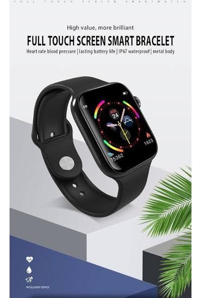 Owwotech W4 Akıllı Saat Unisex Saat 1.3 inç Renkli Ekran Siyah Renk