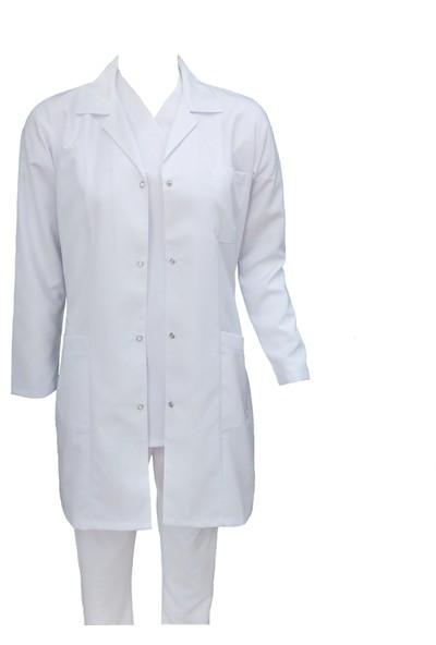 Palmiye Üniforma Gömlek Yaka Uzun Boy Önlük