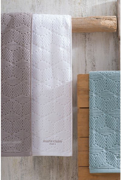Marie Claire Havlu-Joalıne 50 x 90 Cm Tekli Gri 100% Micro Cotton