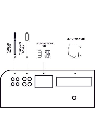 Iskarpela Taşınabilir A4 Ahşap Çizim Masası