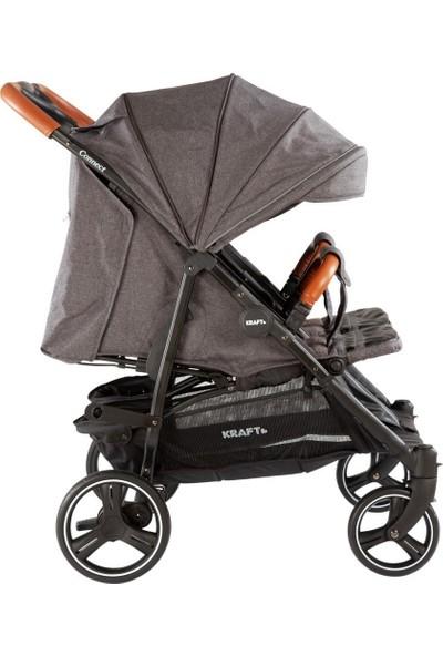 Kraft Connect İkiz Yanyana Bebek Arabası