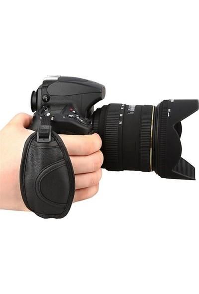 Bum Dslr Deri El Askısı Hand Grip Strap